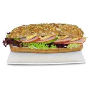 Sandwiches belegt nach Wahl